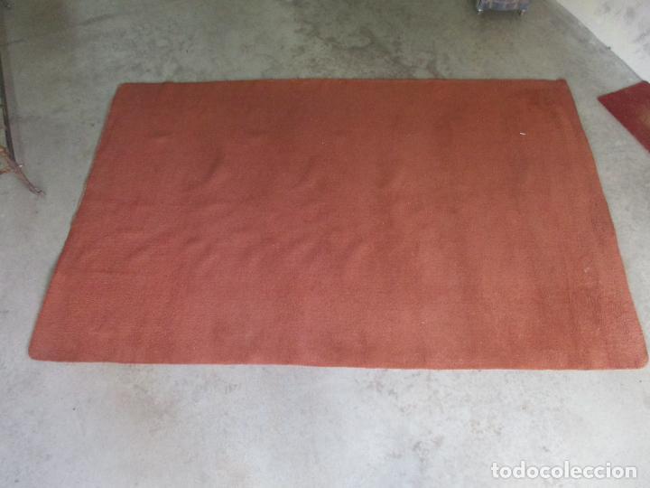 Antigüedades: Gran Alfombra Roja de Salón - en Lana - 300 cm Largo, 197 cm Ancho - Foto 6 - 154960938