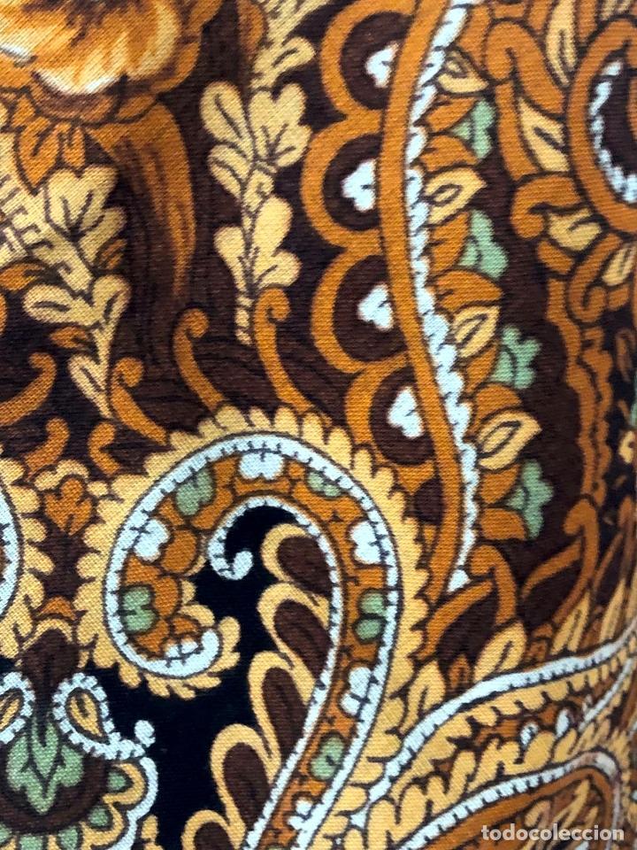 Antigüedades: N 4 - TIPICO MANTÓN ESTAMPADO DE INDUMENTÁRIA TRADICIONAL - S.XX - Foto 5 - 154968906