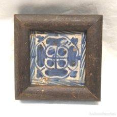 Antigüedades: AZULEJO GÓTICO DEL ESCARBAT VALENCIANO S XV. Lote 154993402