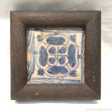 Antigüedades - Azulejo Gótico del Escarbat Valenciano S XV - 154993786