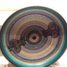 Antigüedades: PLATO VINTAGE CERÁMICA SERRA. Lote 155003514