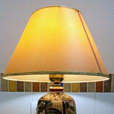 Antigüedades: JARRON LAMPARA JAPONESA VINTAGE. Lote 155033394