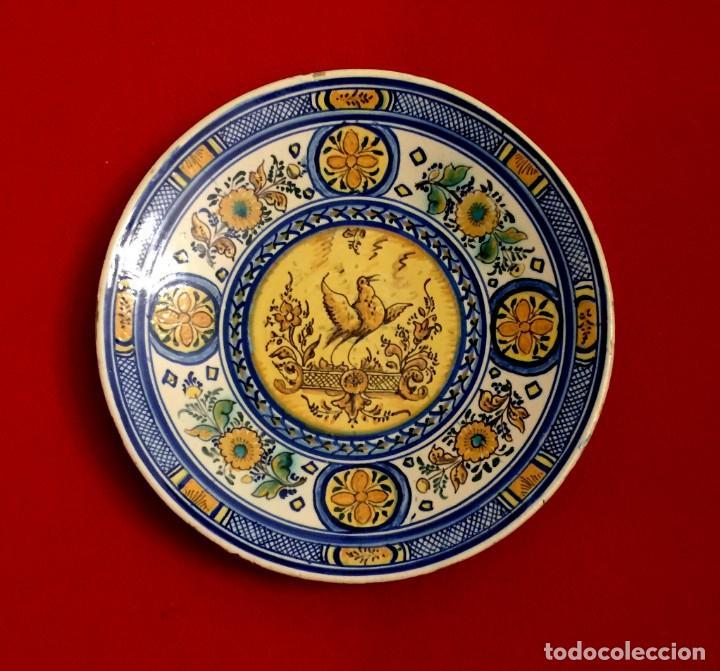 PLATO CERÁMICA DE TRIANA S. XIX (Antigüedades - Porcelanas y Cerámicas - Triana)