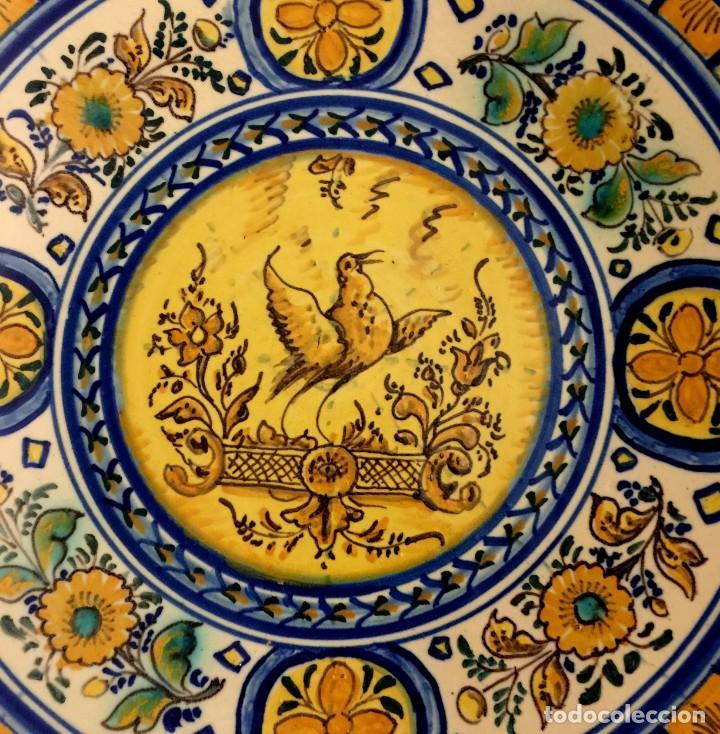 Antigüedades: PLATO CERÁMICA DE TRIANA S. XIX - Foto 3 - 155037550