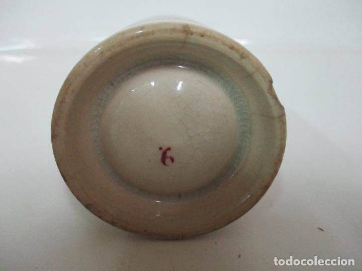 Antigüedades: Antigua Taza, Pocillo - Sargadelos - Decorado en Rojo - S. XIX - Foto 9 - 155052206