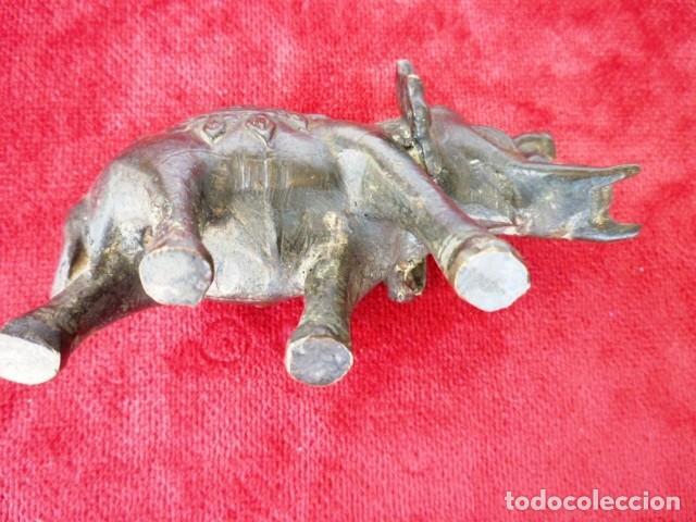 Antigüedades: ELEFANTE DE LA SUERTE EN BRONCE CON PÁTINA, PIEZA ANTIGUA DE COLECCIÓN - Foto 5 - 155063118