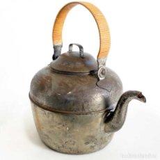 Antigüedades: GRAN TETERA METAL FRANCESA. 34CM. Lote 155082590