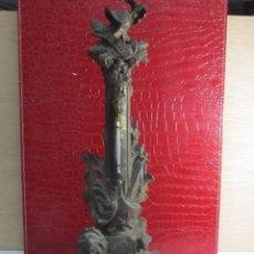 Antigüedades: ANTIGUO ,GRANDE Y CURIOSO TERNOMETRO DE FARMACIA. Lote 155110798