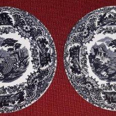 Antigüedades: 2 PLATOS DE LA CARTUJA PICKMAN. Lote 155116446