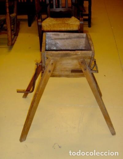 Antigüedades: Picadora antigua rustica para comida de animales - Foto 2 - 155120742