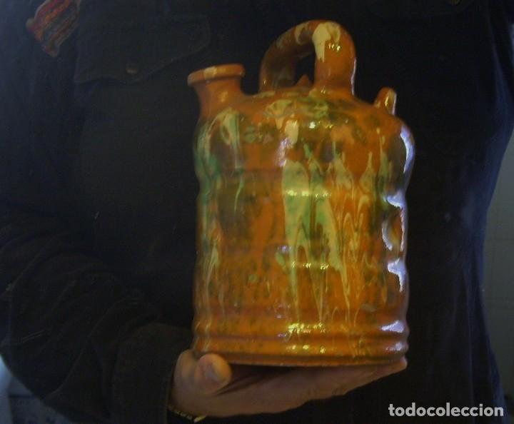 Antigüedades: BOTIJO DE TERRISSA CATALANA DE OLOT XIX-XX - Foto 26 - 155128810