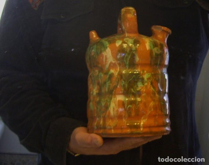 Antigüedades: BOTIJO DE TERRISSA CATALANA DE OLOT XIX-XX - Foto 27 - 155128810