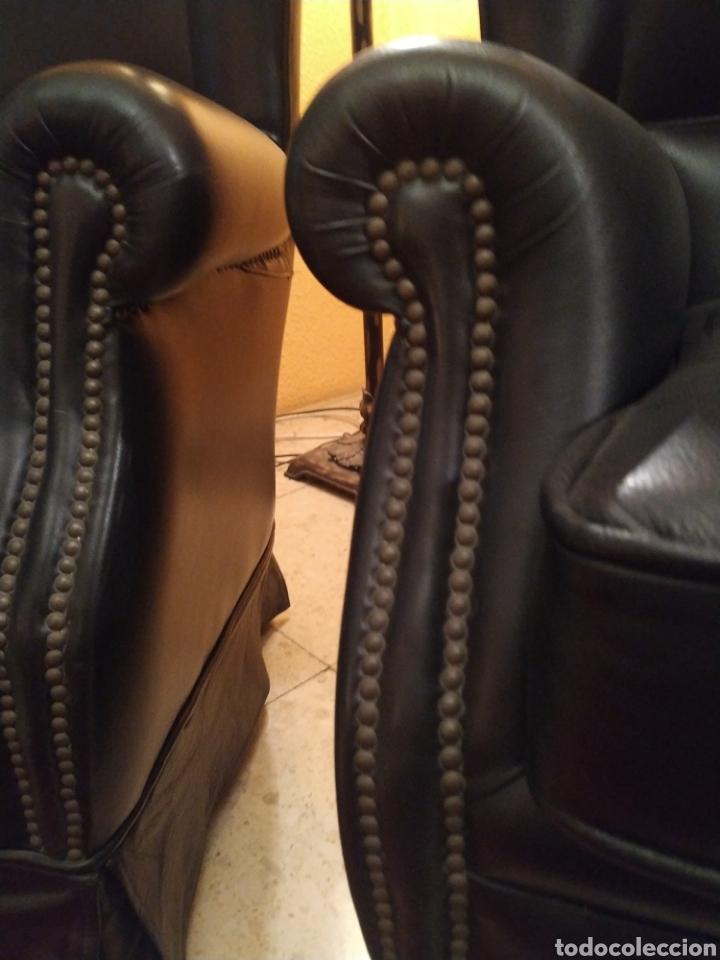 Antigüedades: Conjunto sillones orejeros - Foto 5 - 155149901