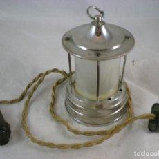 Antigüedades: LAMPARA PEQUEÑA - 125V - PATENTADO. Lote 155153938