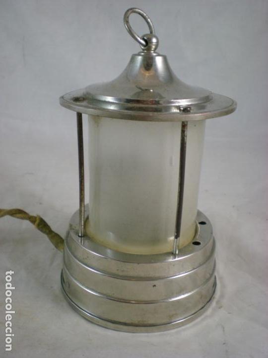 Antigüedades: Lampara Pequeña - 125V - Patentado - Foto 3 - 155153938