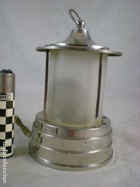 Antigüedades: Lampara Pequeña - 125V - Patentado - Foto 4 - 155153938