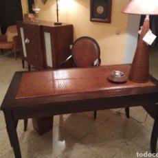 Antigüedades: DESPACHO CUERO. Lote 155156374