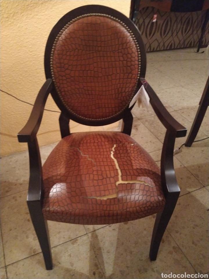 Antigüedades: Despacho cuero - Foto 2 - 155156374
