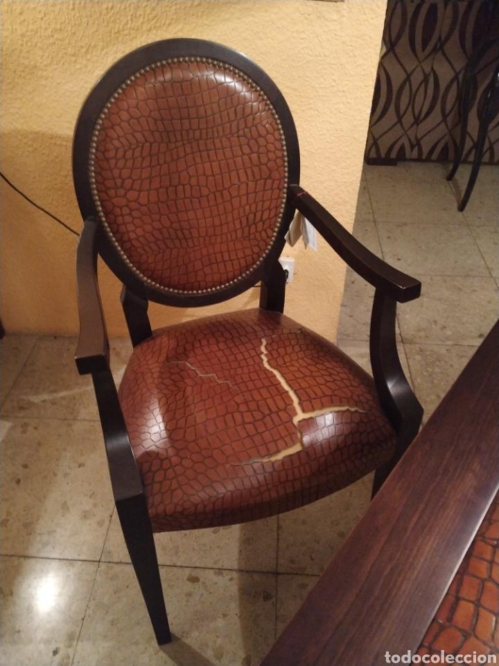 Antigüedades: Despacho cuero - Foto 5 - 155156374