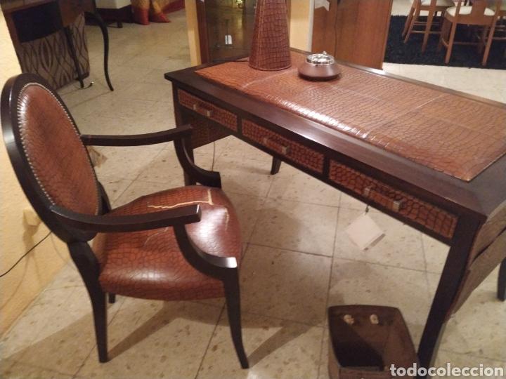 Antigüedades: Despacho cuero - Foto 6 - 155156374