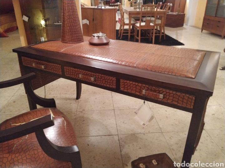 Antigüedades: Despacho cuero - Foto 7 - 155156374