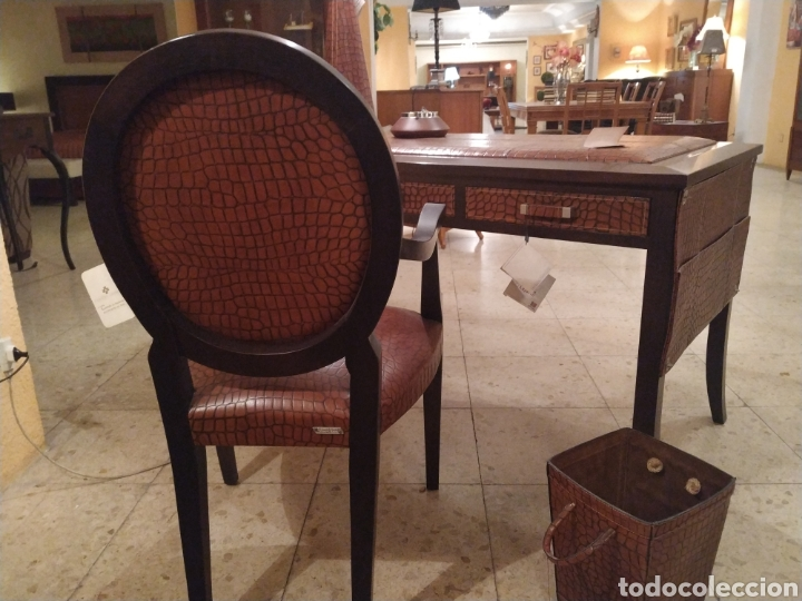 Antigüedades: Despacho cuero - Foto 10 - 155156374