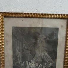 Antigüedades: GRABADO AL ACERO FRANCES. Lote 155227186