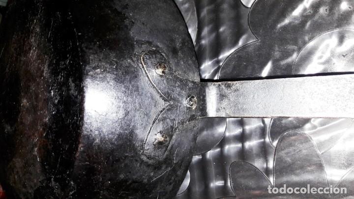 Antigüedades: SARTÉN DE HIERRO FORJADO, PRINCIPIOS DEL SIGLO XX - Foto 2 - 155231698