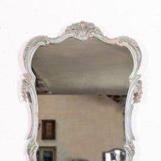 Antigüedades: ESPEJO ANTIGUO RESTAURADO LOGAN. Lote 155241218