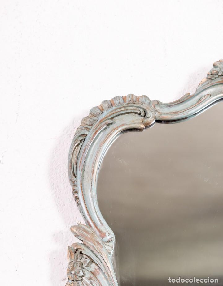 Antigüedades: Espejo Antiguo Restaurado Logan - Foto 3 - 155241218