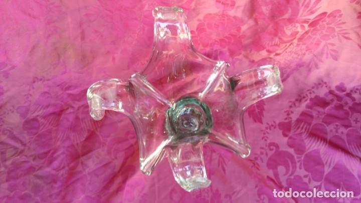 Antigüedades: Centro cristal vintage. - Foto 3 - 155249218
