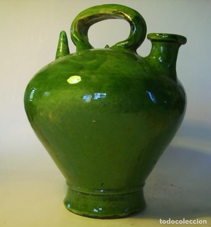 Antigüedades: GRAN BOTIJO DE TERRISSA CATALANA XIX-XX - Foto 4 - 155252698