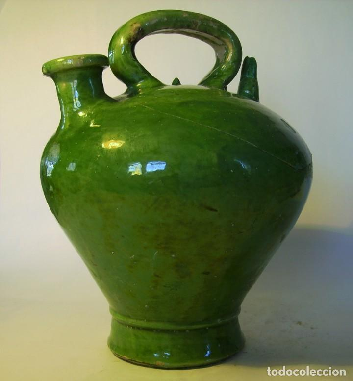 Antigüedades: GRAN BOTIJO DE TERRISSA CATALANA XIX-XX - Foto 5 - 155252698