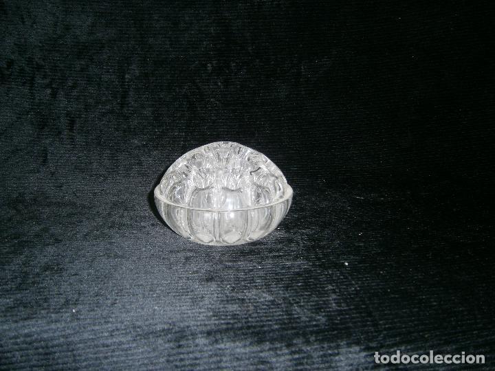 ANTIGUO FLORERO O LAPICERO EN CRISTAL (Antigüedades - Hogar y Decoración - Floreros Antiguos)