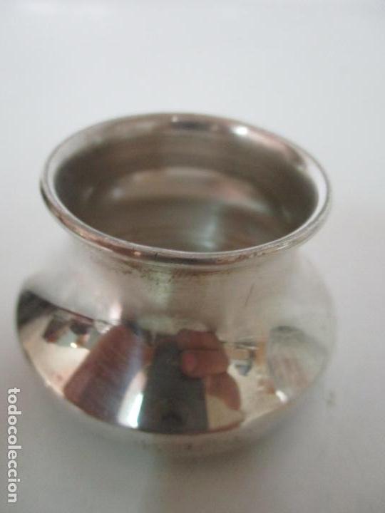 Antigüedades: Bonito Juego de 6 Piezas de Tocador - Plata de Ley, con Contrastes - Sello del Platero Serrahima - Foto 26 - 155260698