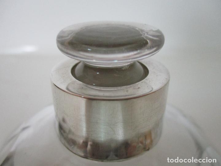 Antigüedades: Bonito Juego de 6 Piezas de Tocador - Plata de Ley, con Contrastes - Sello del Platero Serrahima - Foto 29 - 155260698