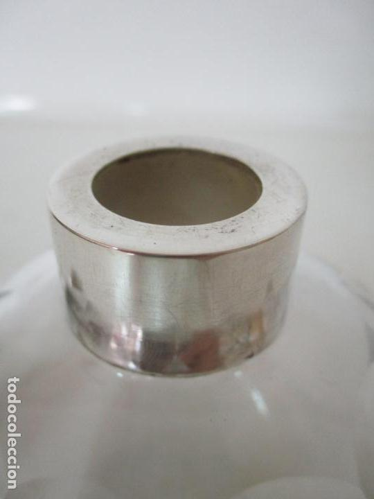 Antigüedades: Bonito Juego de 6 Piezas de Tocador - Plata de Ley, con Contrastes - Sello del Platero Serrahima - Foto 30 - 155260698