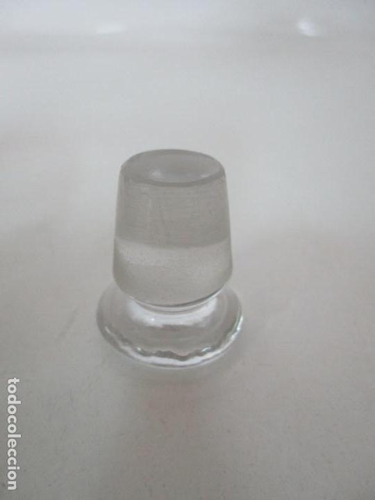 Antigüedades: Bonito Juego de 6 Piezas de Tocador - Plata de Ley, con Contrastes - Sello del Platero Serrahima - Foto 31 - 155260698