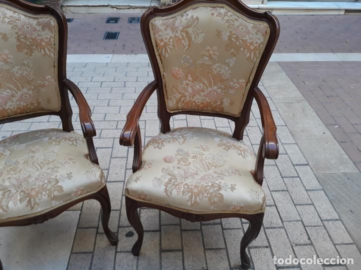Antigüedades: pareja de sillones - Foto 2 - 155280494
