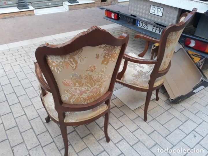 Antigüedades: pareja de sillones - Foto 3 - 155280494