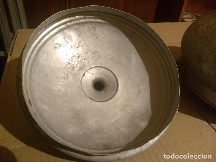 Antigüedades: Antigua sopera de aluminio - Foto 5 - 155298454