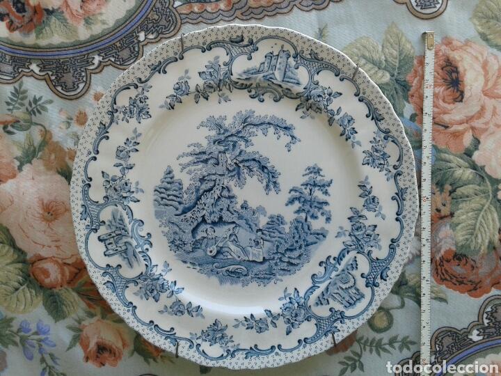 PLATO DE PORCELANA ANTIGUO MASON'S (Antigüedades - Porcelanas y Cerámicas - Inglesa, Bristol y Otros)
