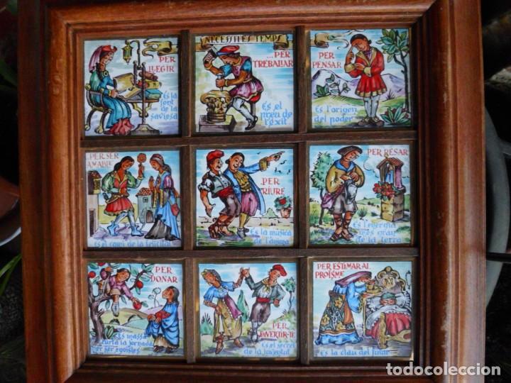 RAJOLA ANTIGUA EN CATALAN (Antigüedades - Porcelanas y Cerámicas - Otras)
