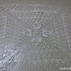 Antigüedades: ANTIGUO TAPETE DEL SIGLO XIX-ALMIDONADO. Lote 155303406