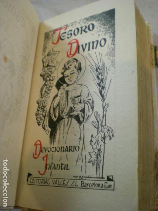 Antigüedades: Devocionario Infantil - Editorial Valle -1959 - Obispado de Barcelona - Foto 6 - 155309322