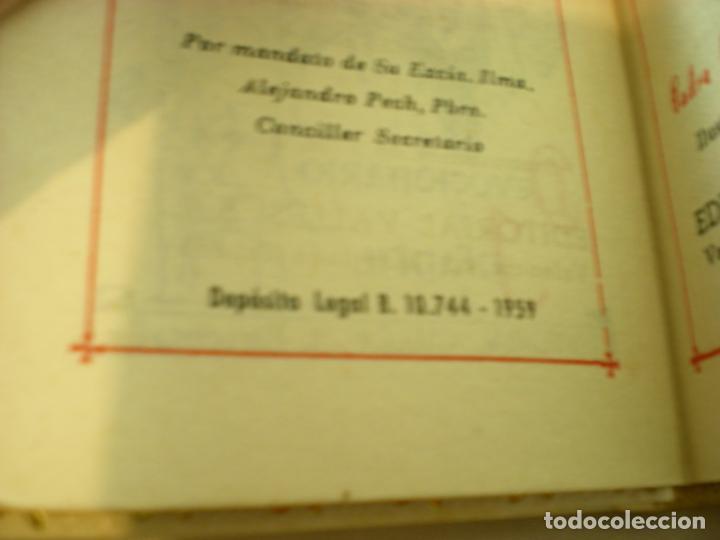 Antigüedades: Devocionario Infantil - Editorial Valle -1959 - Obispado de Barcelona - Foto 7 - 155309322