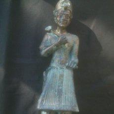 Antigüedades: FIGURA DIOSA EGIPCIA ALTURA: 25CM. Lote 155332854