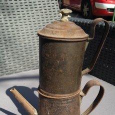 Antigüedades: CAFETERA ANTIGUA. Lote 155340300
