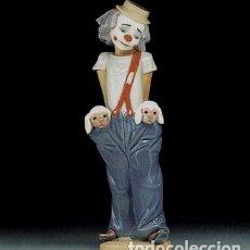 "Antigüedades: REF: 01007600 ""PAYASITO BOLSILLOS"" LLADRÓ. Lote 183937402"