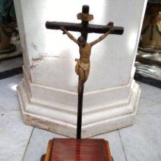 Antigüedades: CRISTO CRUCIFICADO SIGLO XIX. Lote 155361900